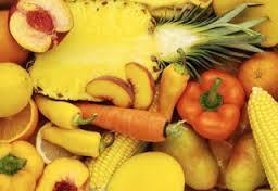 Rahsia disebalik warna buah dan sayur, sayur berwarna kuning jingga