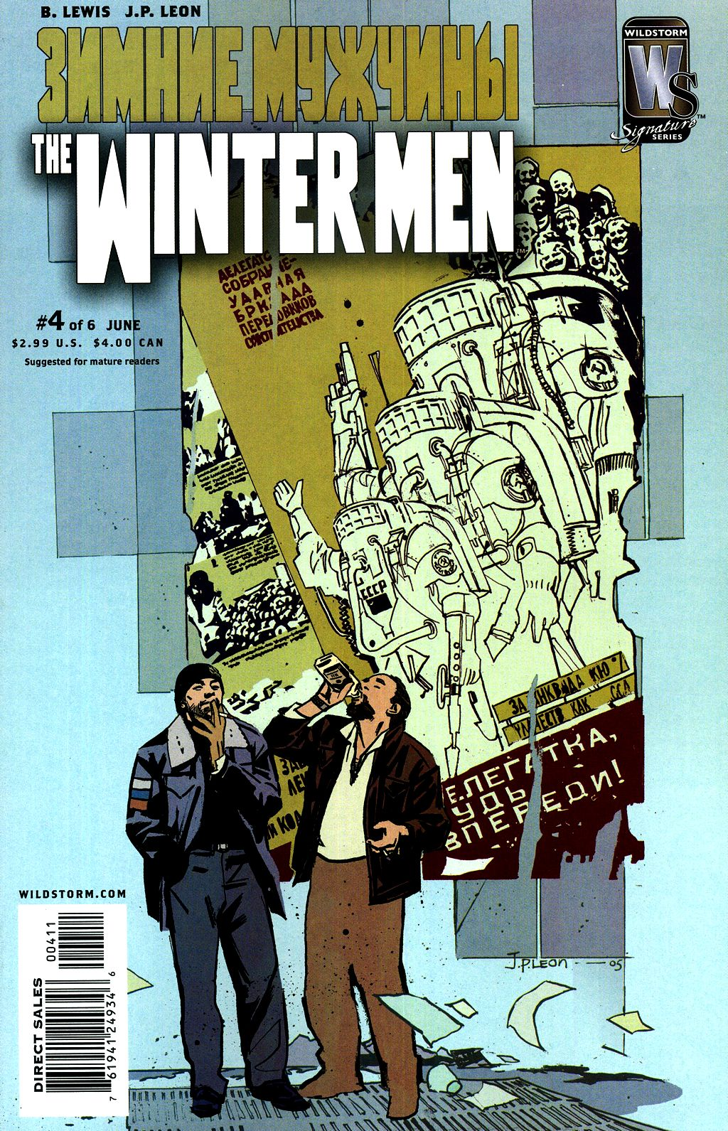 Read online The Winter Men comic -  Issue #4 - 1