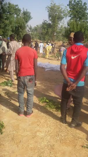 So Sad!! 20 Members Of A Family Killed In Maiduguri Boko Haram Attack (Photos) B