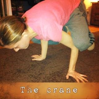 p90x, the crane, p90x yoga