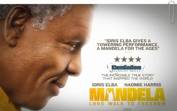 Ile movie ya kumuenzi Nelson Mandela hii hapa itazame Trailer yake hii ...