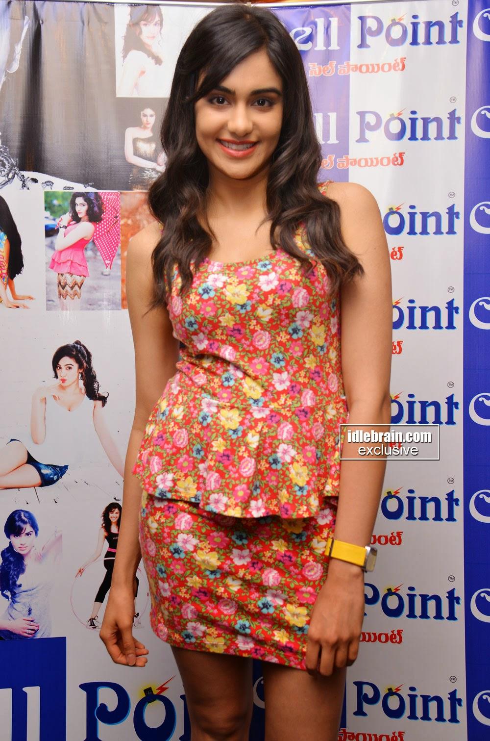 Adah Sharma at event