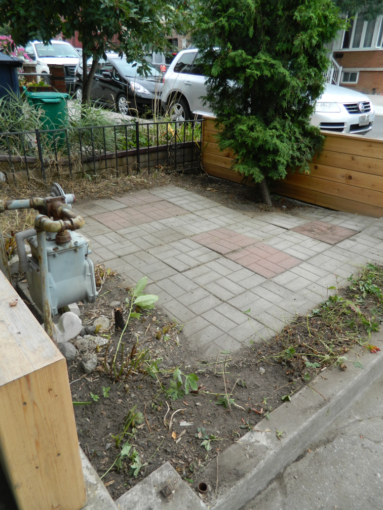 Little Portugal garden cleanup Paul Jung Gardening Services Toronto after