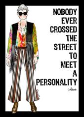 Card of Mel Kobayashi by Suzanne Carillo
