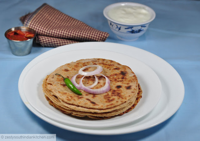 Rajgira aloo roti: Amaranth flour and potato flat bread