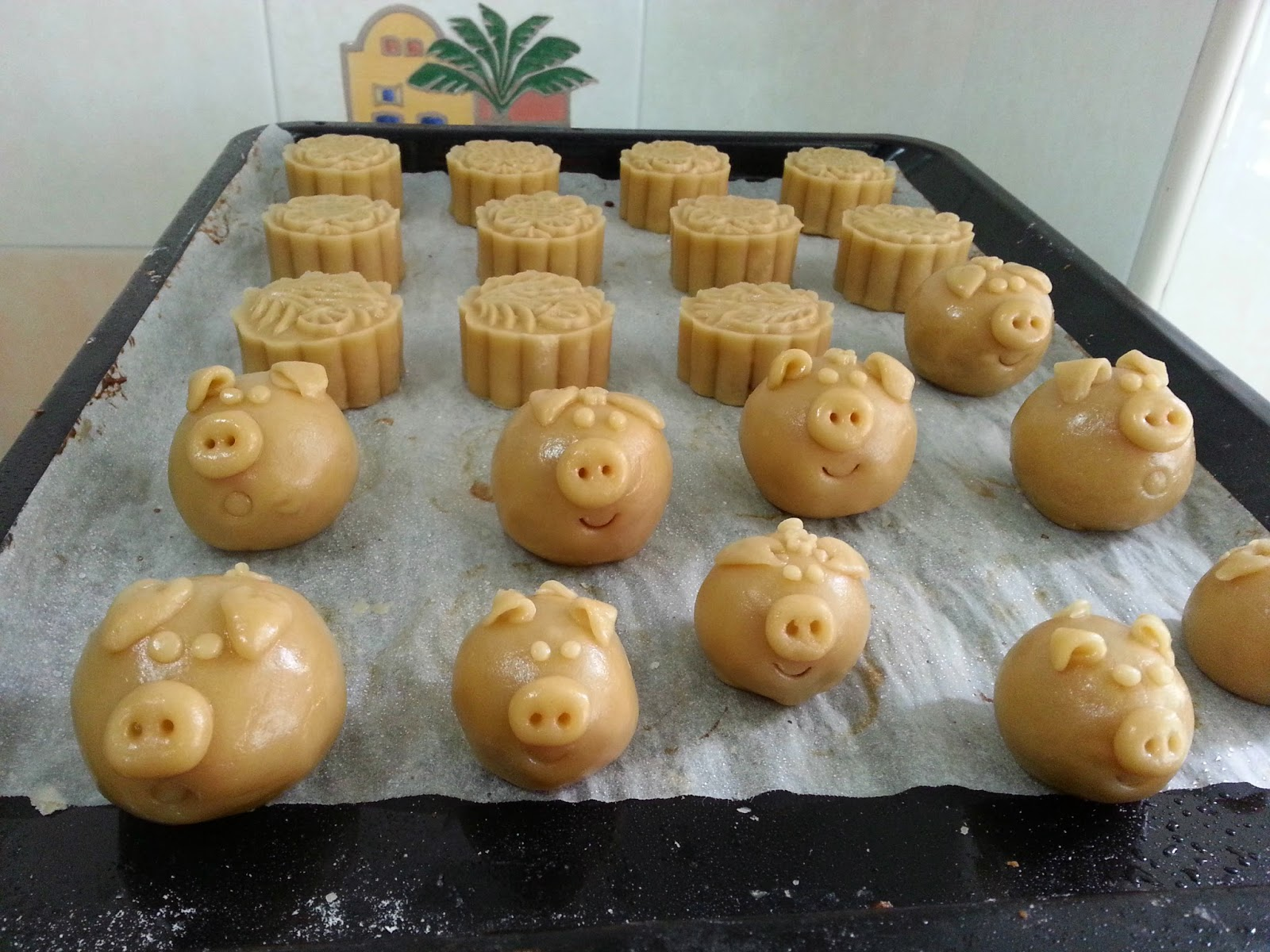 traditional mooncakes