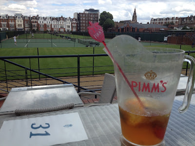 Pimm's, Pimm's o'clock, pitcher, queens club, tennis,