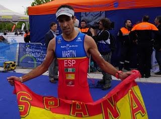 DUATLÓN - Emilio Martín se convierte en bicampeón del mundo