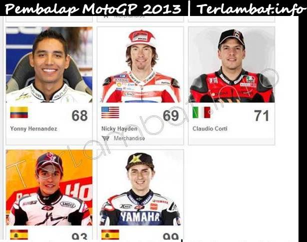 Pembalap MotoGP 2013