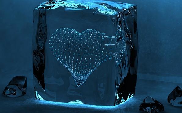 Exclusive wallpapers: Frozen Heart