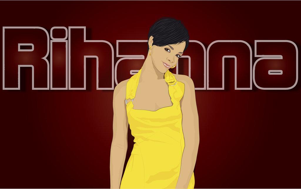 Cartoon Pictures of Rihanna