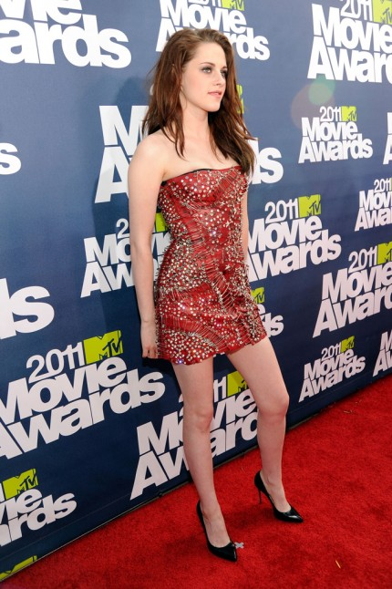 kristen stewart mtv movie awards 2011 hair. Kristen Stewart – 2011 MTV