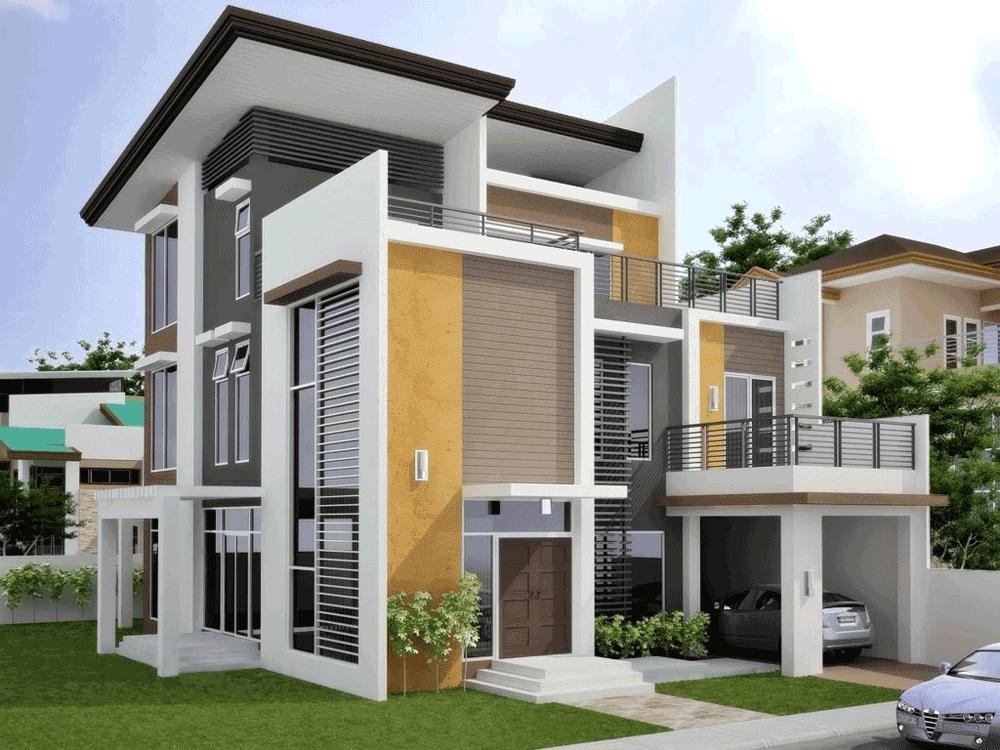 Contoh Gambar Desain Rumah Minimalis Type 70 Trend Terbaru