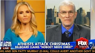 "Elisabeth Hasselbeck Thanks Creationist for ""Standing Up"" to Atheists"