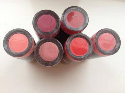 MUA Lipstick Reviews and Swatches! Love lipsticks? How about £1.00 lipsticks?!