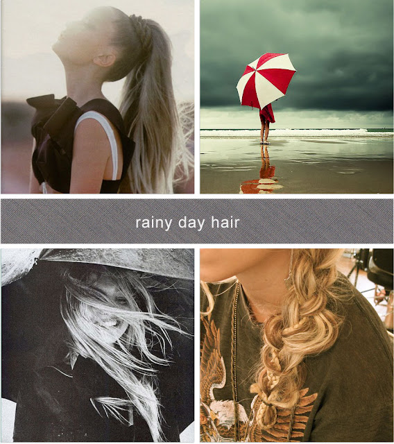 mystics + mint: rainy day hair how-to