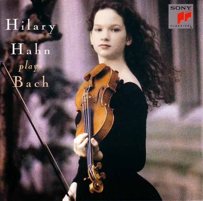 Hilary Hahn-Bach partita N° 3 Gavotte en rondeau