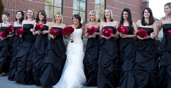 Vestido preto para casamento gloria kalil