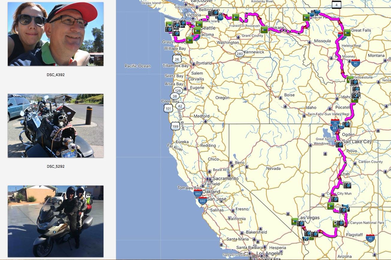 De Las Vegas a Seattle. 5200 Km recorriendo Las Rocosas.