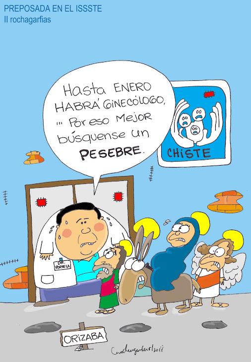 PREPOSADA EN EL ISSSTE.
