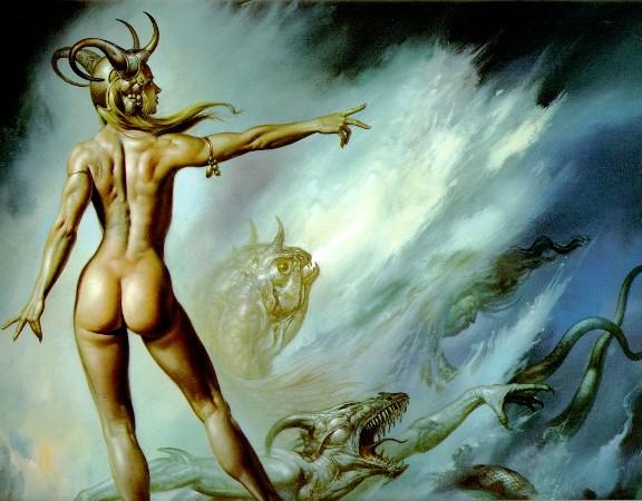 Lilith e os demônios