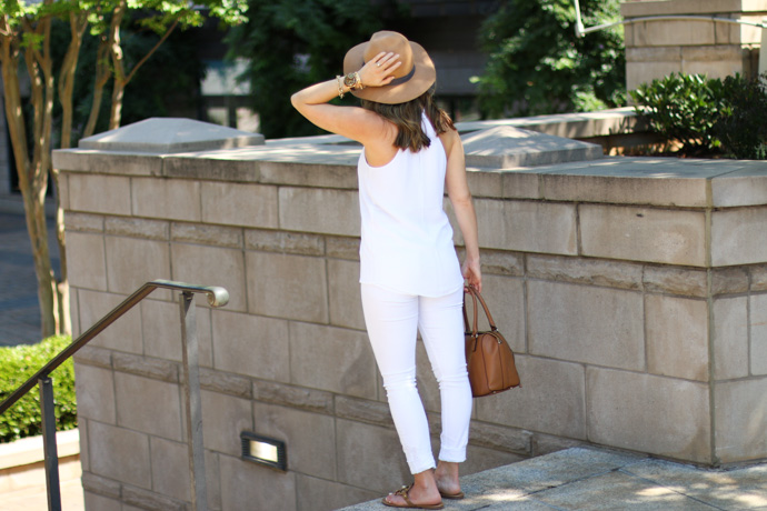 White on White outfit for Summer