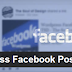 Wordpress Facebook Post Embed Plugin by TSD