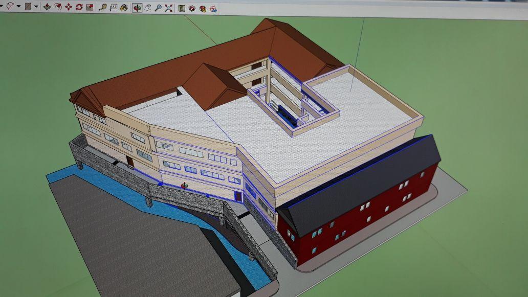 SMAN 6 BANDUNG BUILDING PLAN