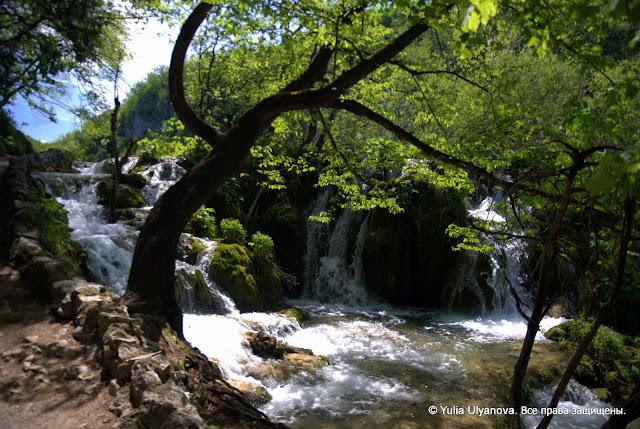 Плитвицкие озера, водопады. Хорватия