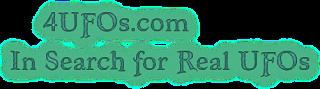 4ufos.com: Real ufos logo