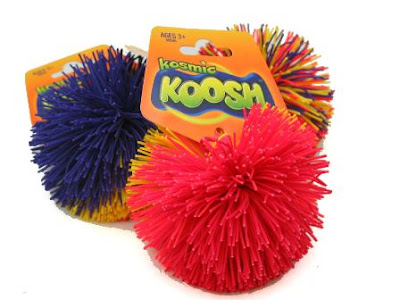 Squishy Koosh Ball : Bighead and Muffin: Blast From the Past 80 s toys