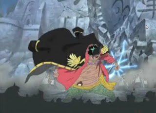 marshall d teach blackbeard kurohige new powers Yami Yami no Mi right hand and  Gura Gura no Mi left hand