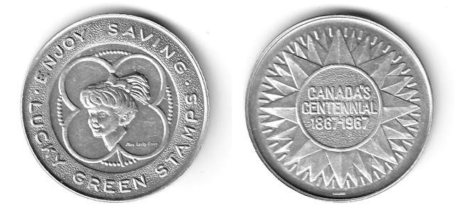 Canada's Centennial coin