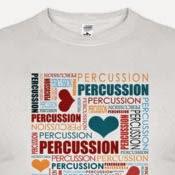 Camiseta Percussion - Tienda online de camisetas de percusión y batería