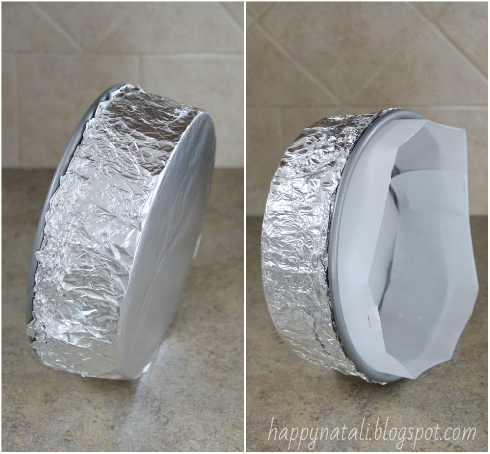 Как сделать формочки из фольги своими руками