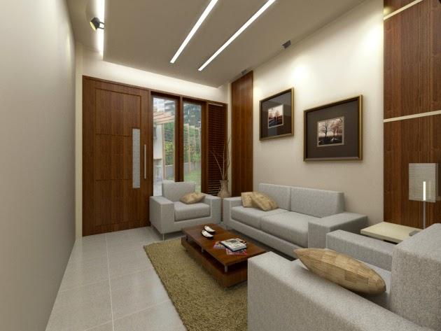 model desain ruang tamu minimalis ukuran 3x3 modern