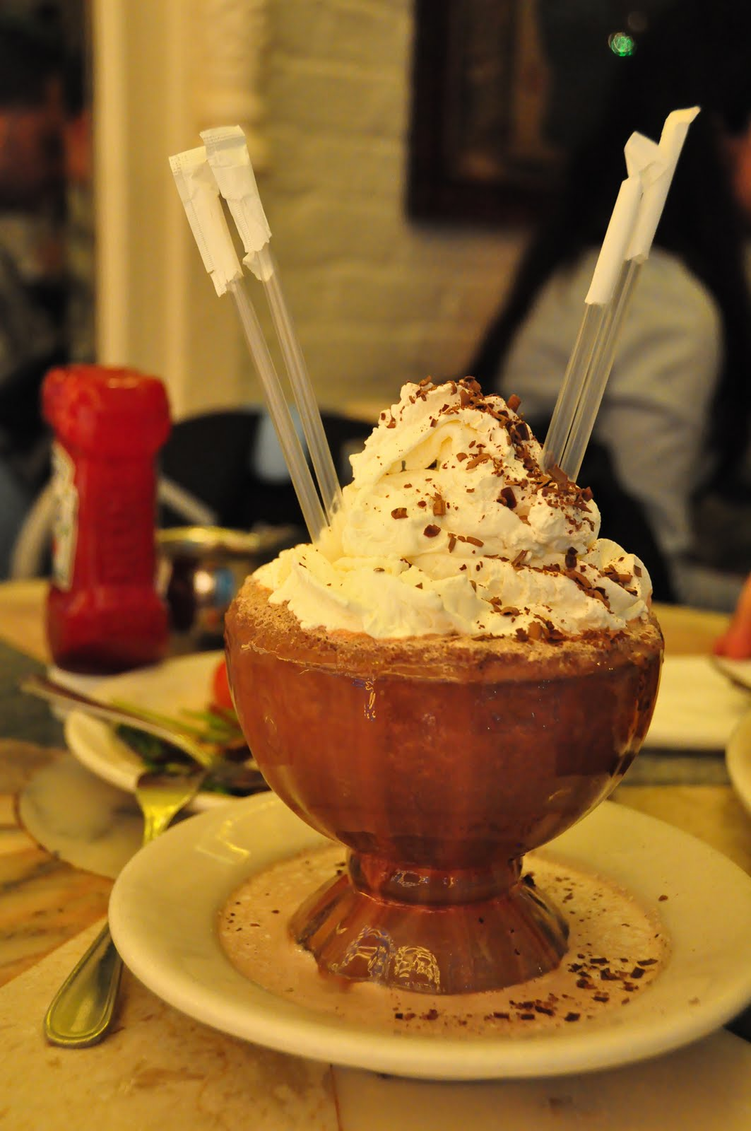 Frrrozen Hot Chocolate a simple sweet chocolate cold drink really ...