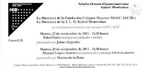 "Presentando a Manuel López Azorín en la tertulia ""Rafael Montesinos"""