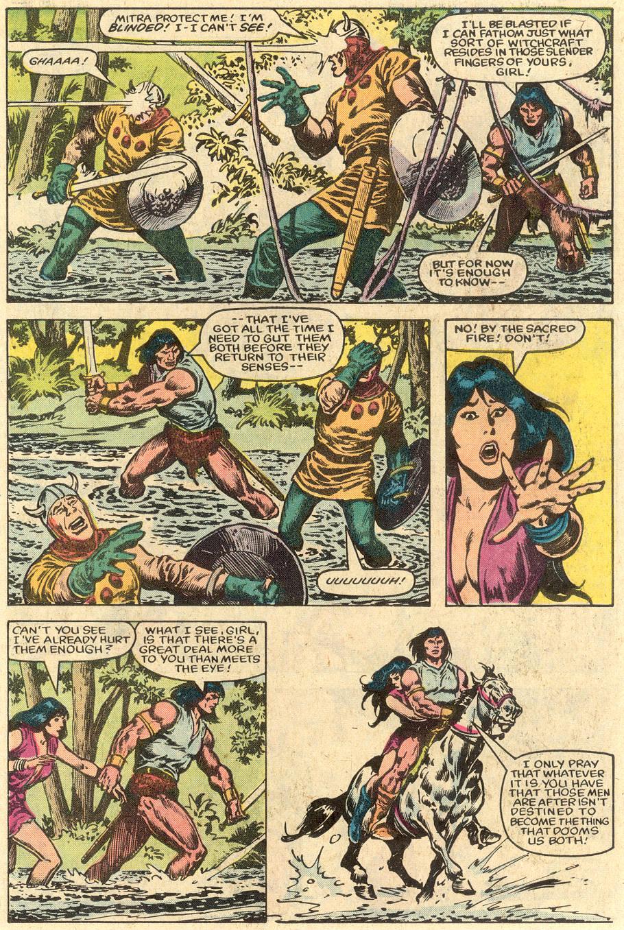 Conan the Barbarian (1970) Issue #150 #162 - English 9