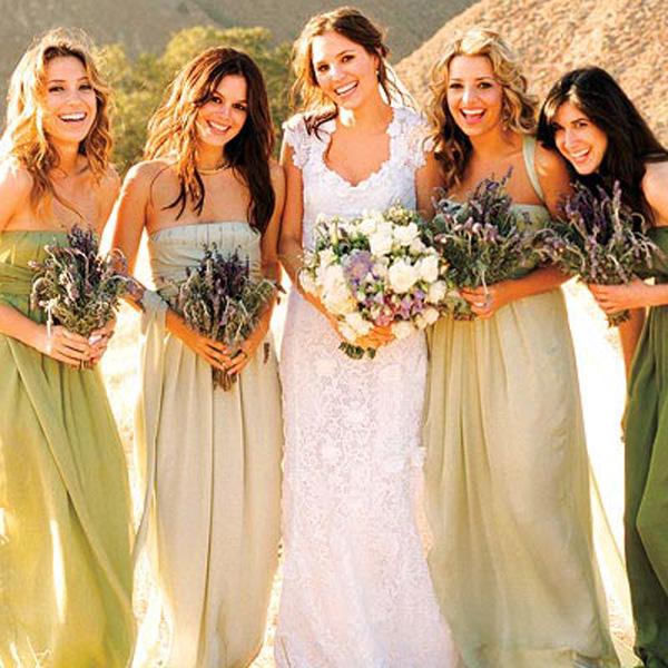 Grandiosos vestidos de damas de honor