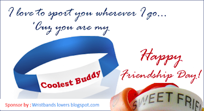 friendship day wristbands