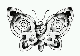 Tatoos y Tatuajes de Mariposas, parte 3