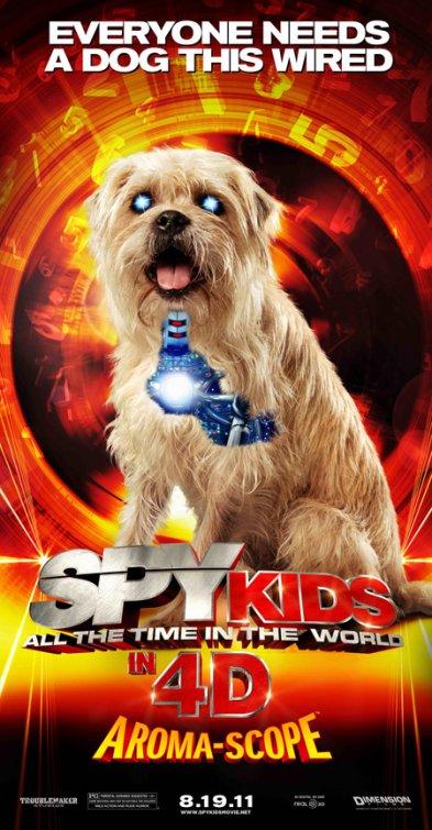 Spy Kids 4 movie poster