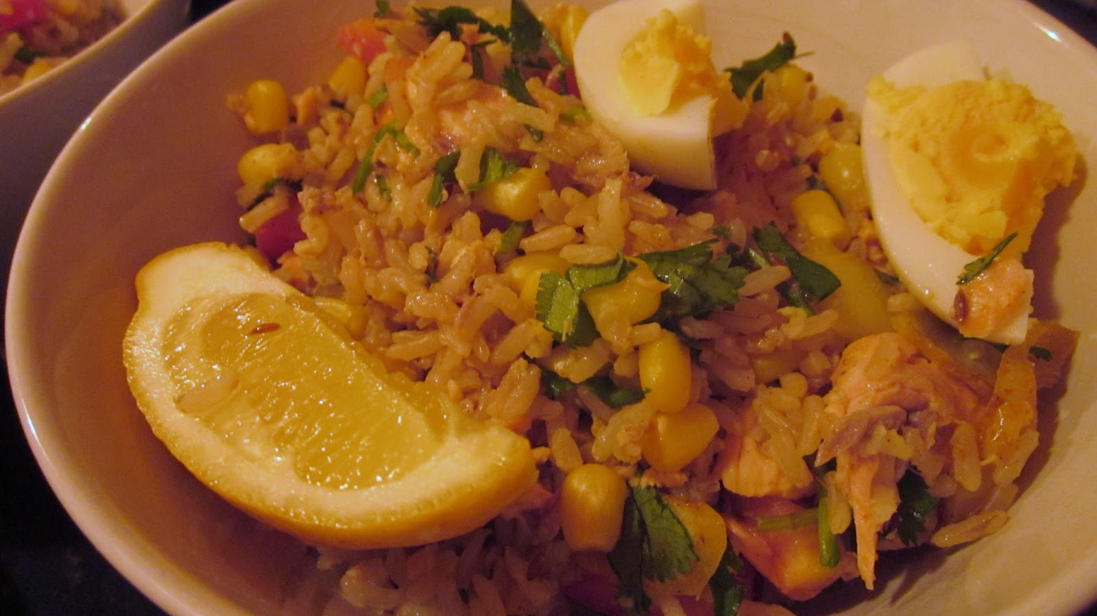 Better Belly Burst!: Salmon Kedgeree