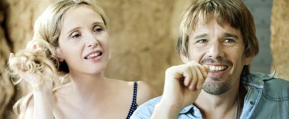 Julie Delpy e Ethan Hawke em ANTES DA MEIA-NOITE (Before Midnight)