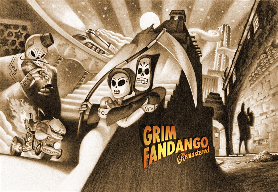 Grim Fandango Remastered Download Poster