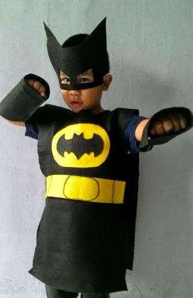 how to make a homemade batman costume