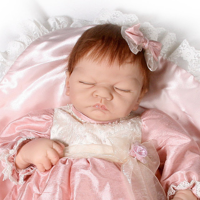 Linda Webb So Truly Real Limited-Edition Silicone Emily Baby Doll by Ashton Drake