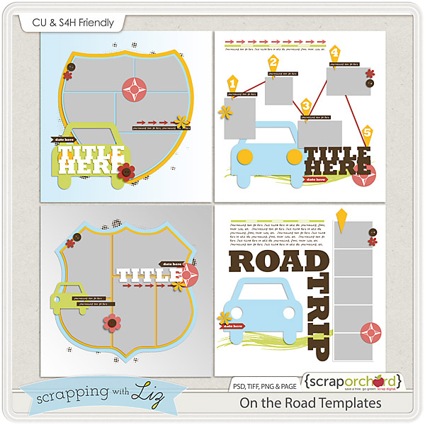 http://scraporchard.com/market/On-the-Road-Digital-Scrapbook-Templates.html