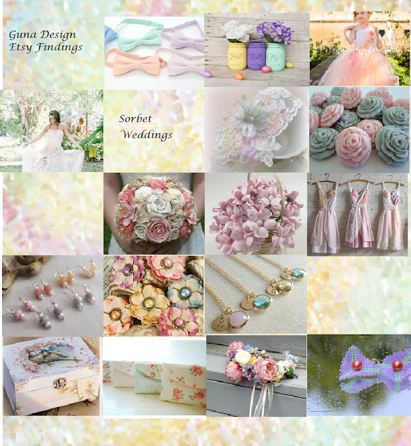 gunadaseign guna andersone pastel color weddings